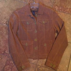 Abercrombie & Fitch Suede Jacket